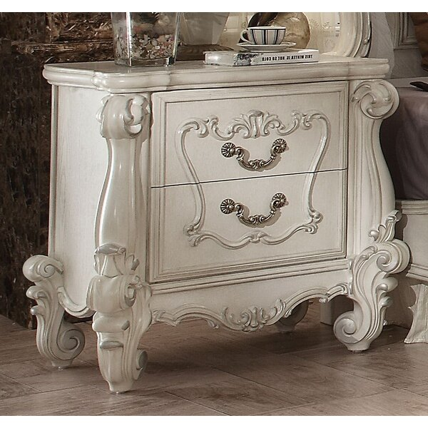Tanner 2 Drawer Nightstand by Astoria Grand