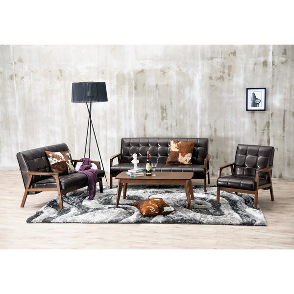 Calla 3 Piece Living Room Set by Latitude Run