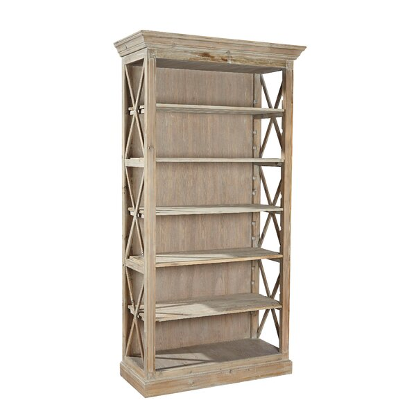 Weathered Open Bookcase by Furniture Classics