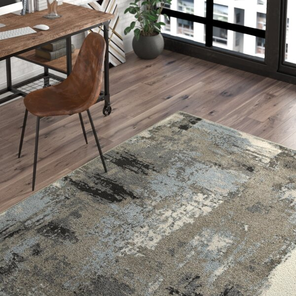 Rockford Blue/Gray Area Rug by Trent Austin Design
