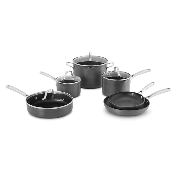 Classic 10 Piece Non-Stick Cookware Set by Calphalon
