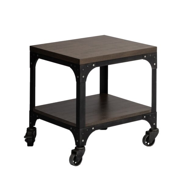 Burciaga End Table by Williston Forge