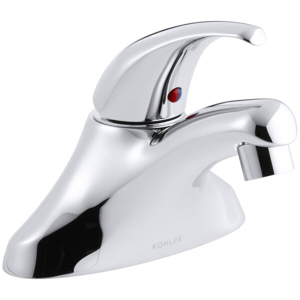 Coralais® Centerset Bathroom Faucet with Drain Assembly