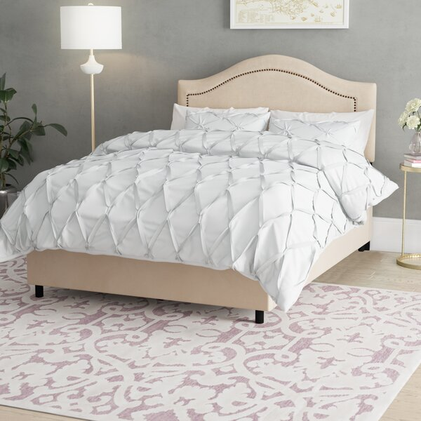 Doleman Upholstered Wood Frame Standard Bed By Willa Arlo Interiors Spacial Price