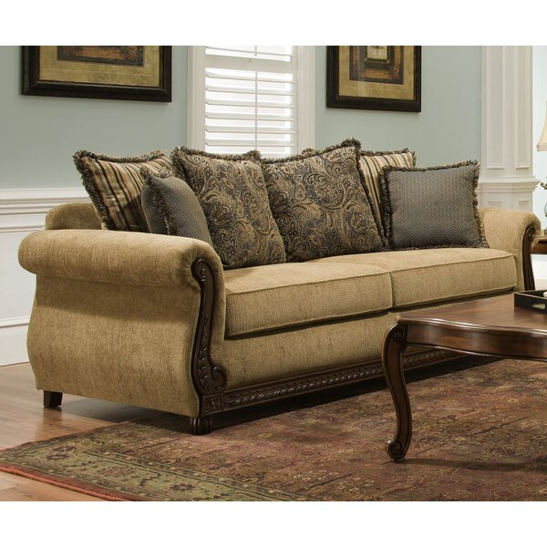 Modern Simmons Upholstery Freida Sofa by Astoria Grand by Astoria Grand