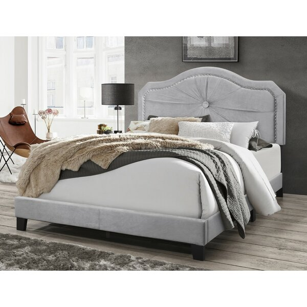 Earby Upholstered Standard Bed by House of Hampton