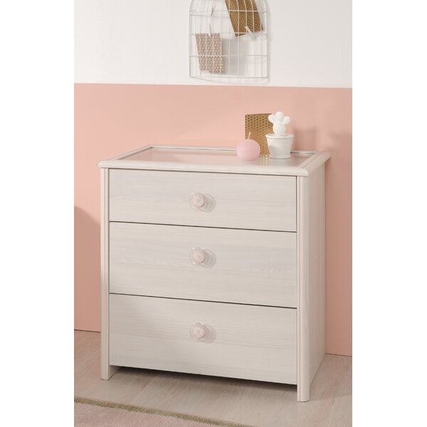 Richbell 3 Drawer Chest by Harriet Bee