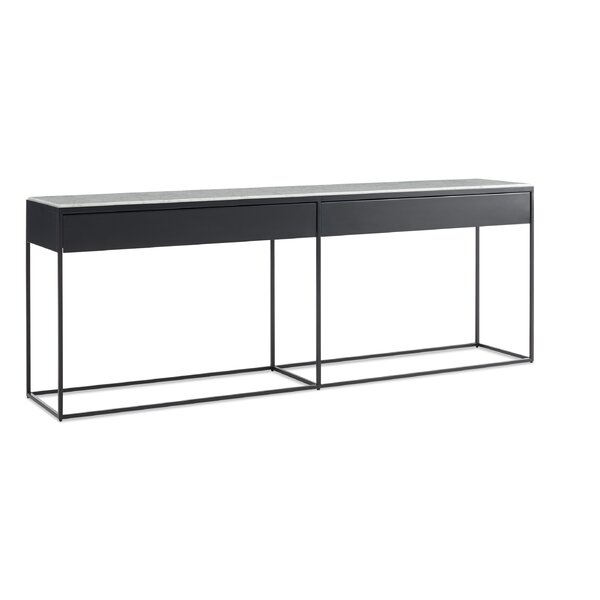 Blu Dot Black Console Tables