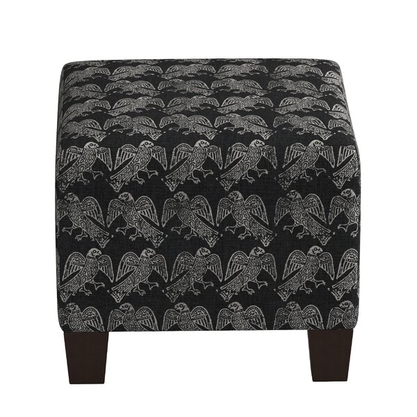 Trace Cube Ottoman by World Menagerie