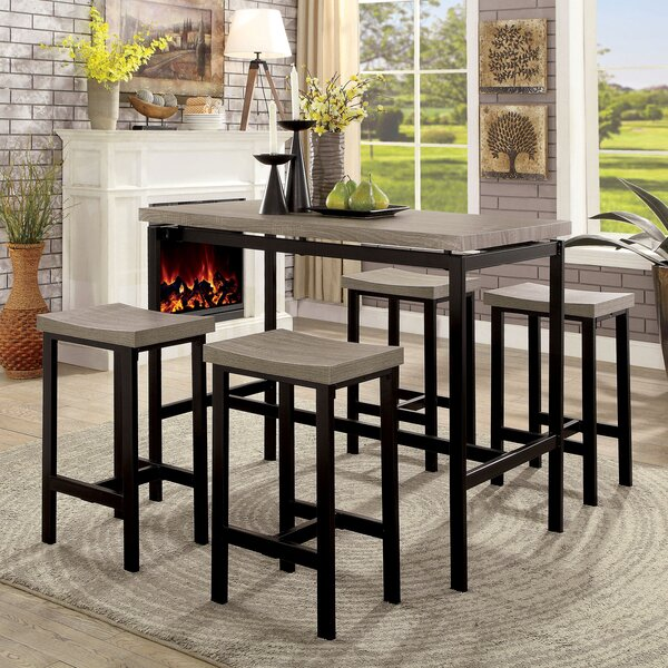 Wrought Studio Beveridge 5 Piece Dining Set & Reviews by Wrought Studio