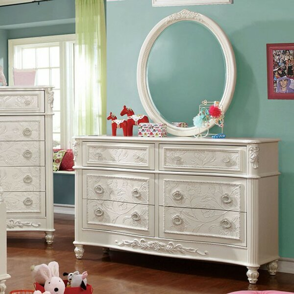 Dottie 6 Drawers Double Dresser by Darby Home Co