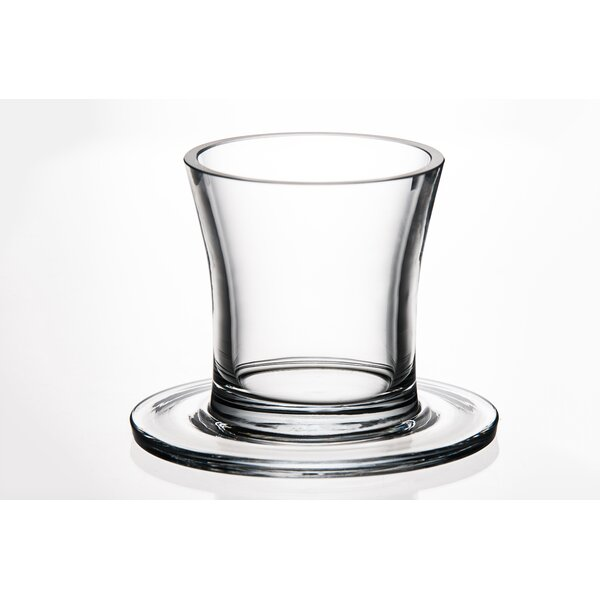 Top Hat Crystal Cocktail Glass by Majestic Crystal