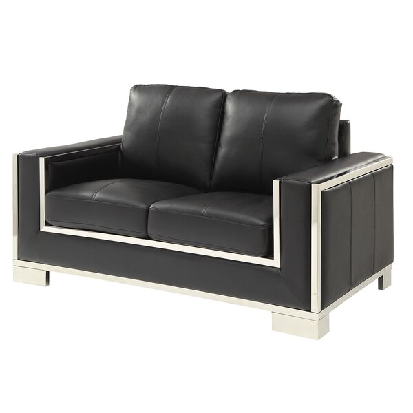 New Look Style Timpson Loveseat by Orren Ellis by Orren Ellis