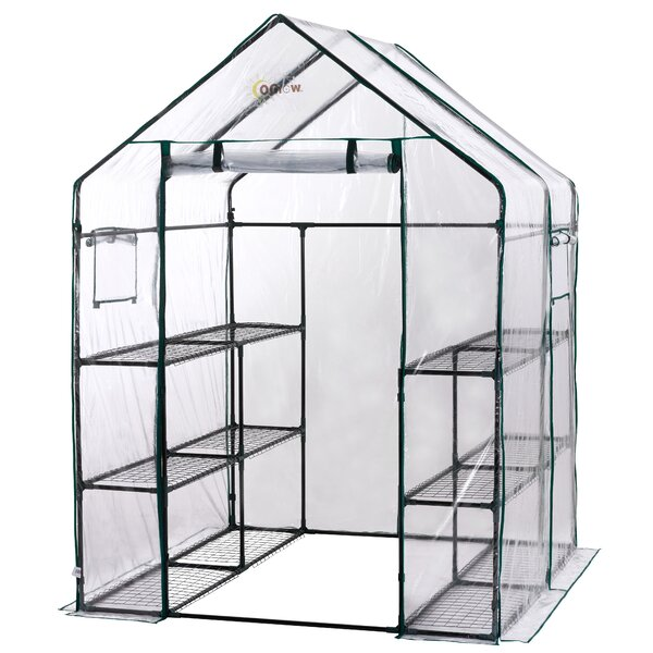 4.5 Ft. W x 4.5 Ft. D Greenhouse by OGrow