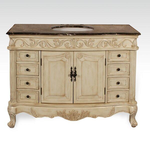 Everard 48 Single Bathroom Vanity Set by One Allium Way