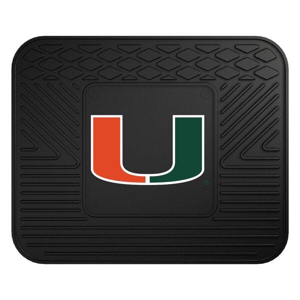 NCAA University of Miami Kitchen Mat by FANMATS