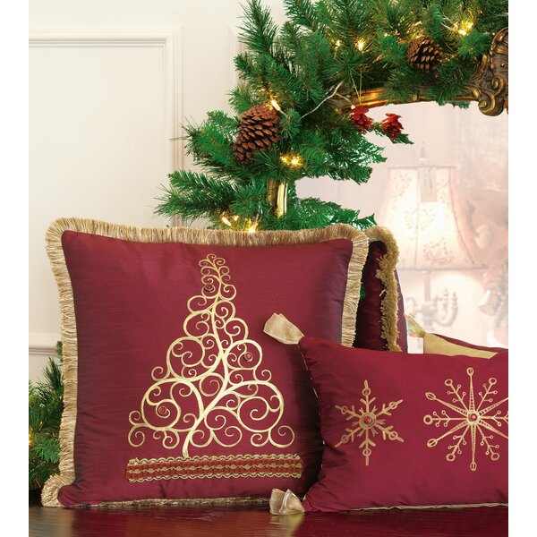 Studio 773 Lifestyle Tree Christmas Throw Pillow by Eastern Accents