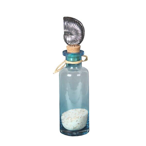 Karthick Shell Topper Decorative Bottle by Highland Dunes