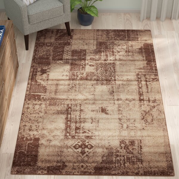 ︷best︸ D 5 X 6 Ft Kersey Gold Area Rug By August Grove