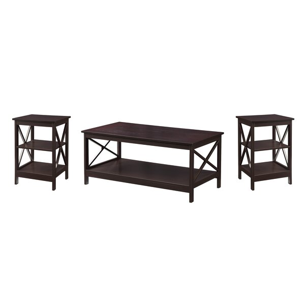 Stoneford 3 Piece Coffee Table Set by Beachcrest H