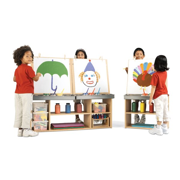 Double Sided Board Easel by Young Time