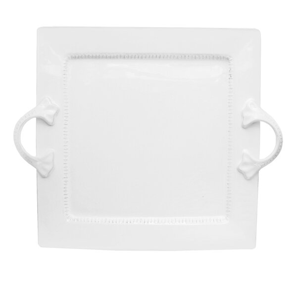 Bianca Dash Square Platter by Design Guild