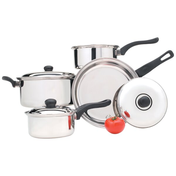 7 Piece Cookware Set by Utica Cutlery Company