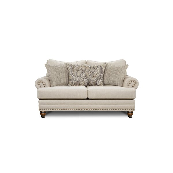 Trendy Modern Everhart Loveseat by Darby Home Co by Darby Home Co