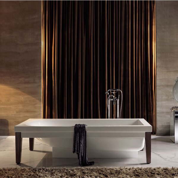 Bentley 70.1 x 20.5 Soaking Bathtub by WS Bath Collections