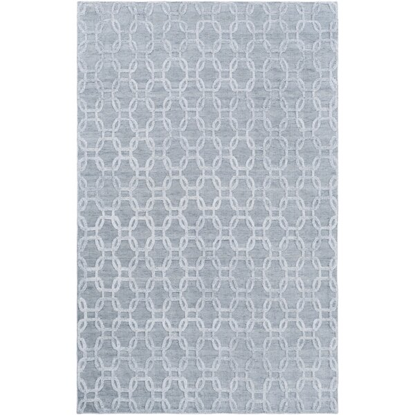Elvira Hand Woven Ivory/Gray Area Rug by Mercer41