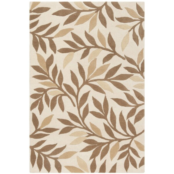 Martha Stewart Charleston Tufted / Hand Loomed Light Brown/Ivory Area Rug by Martha Stewart Rugs