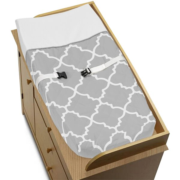 Trellis Changing Pad Cover by Sweet Jojo Designs