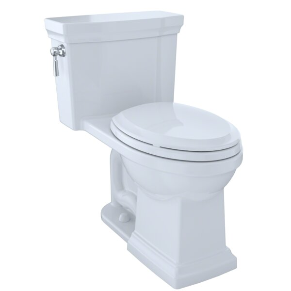 Promenade 1.28 GPF Dual Flush Elongated One-Piece Toilet by Toto