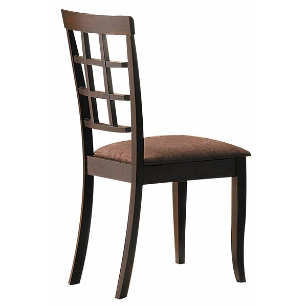 Ismail Solid Wood Dining Chair (Set of 2) by Red Barrel Studio