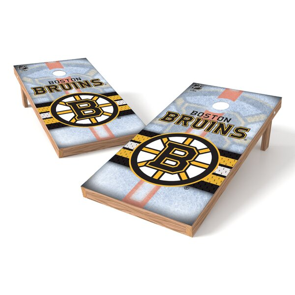 NHL Game Cornhole Set by Tailgate Toss