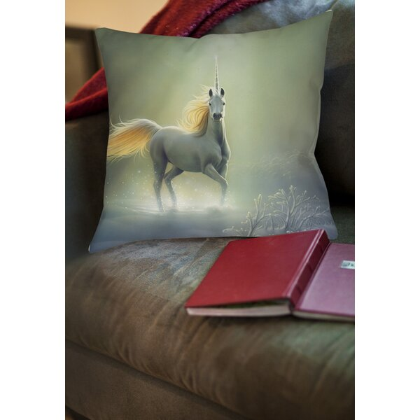 Touch by the Aurora Printed Throw Pillow by Manual Woodworkers & Weavers