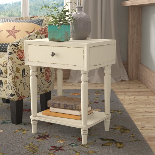 Mentone End Table by Three Posts