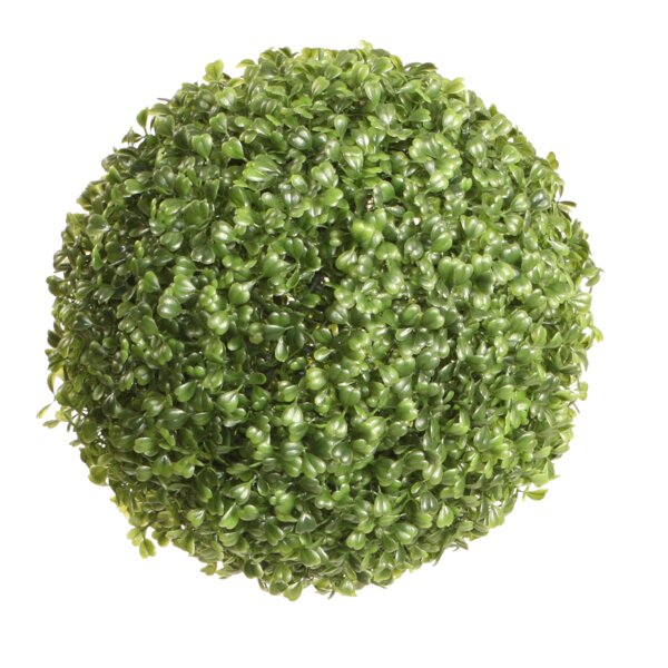 Faux Ball Floor Boxwood Topiary by Charlton Home