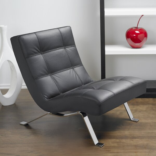 Avalon Top Grain Leather Lounge Chair by Lind Furniture