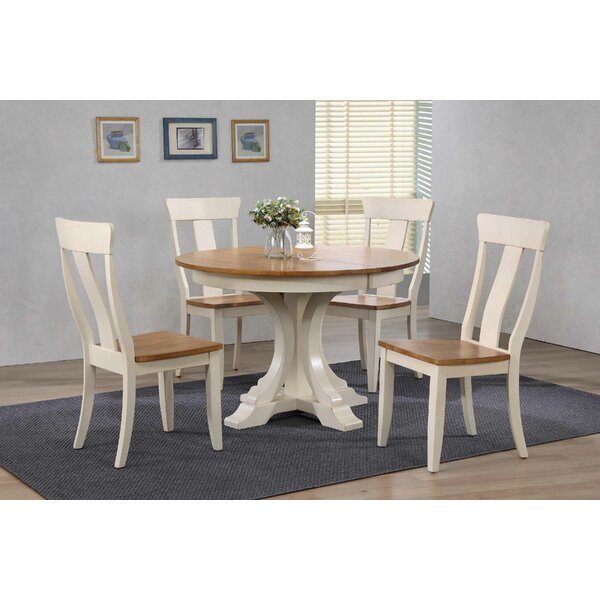 Alisha 5 Piece Extendable Dining Set by Alcott Hill