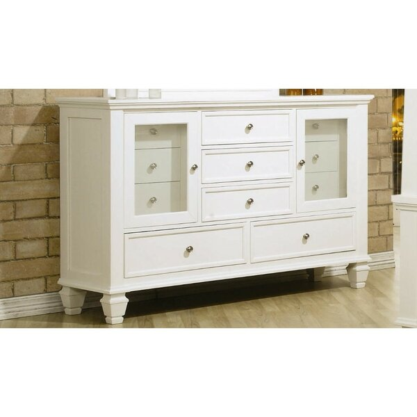 Ecker Wooden 11 Drawer Combo Dresser by Darby Home Co