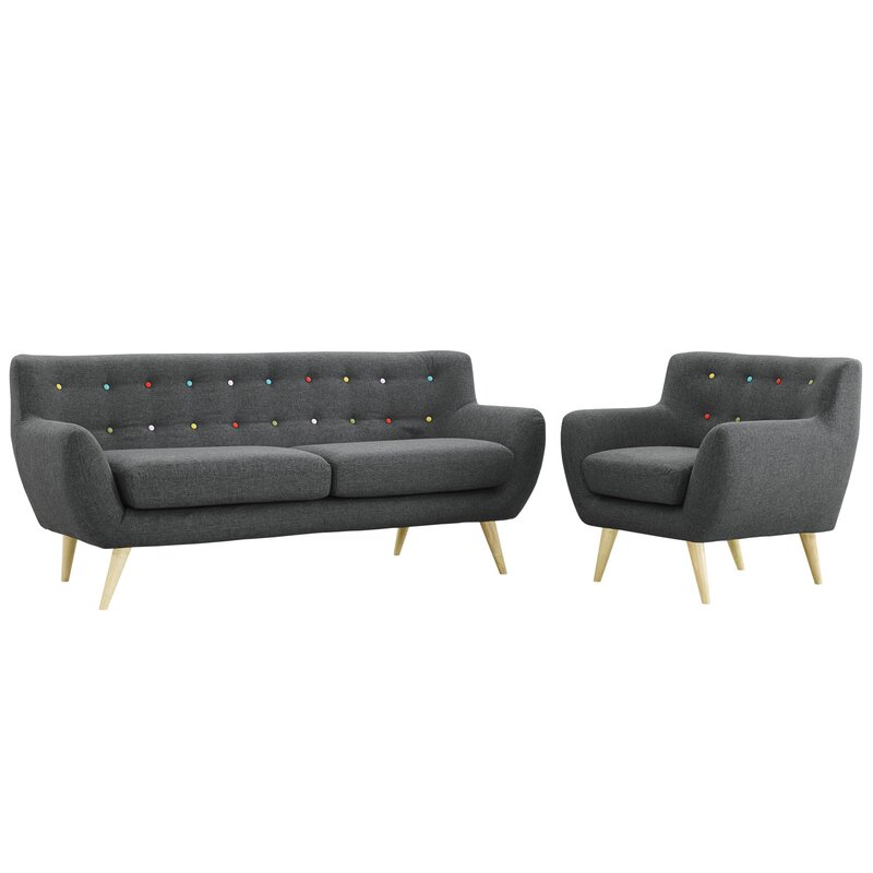 $859.99 Connelly 2 Piece Living Room Set - dealepic