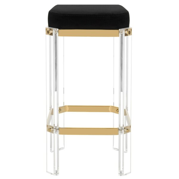 Javier 27.25 Bar Stool by Everly Quinn