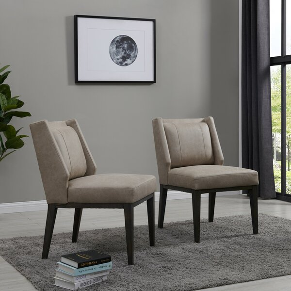 Burrill Upholstered Dining Chair by Brayden Studio