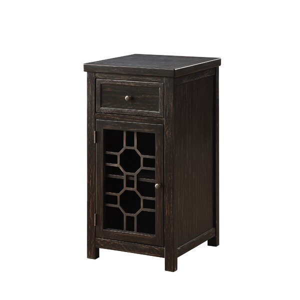 Schley End Table With Storage By Highland Dunes