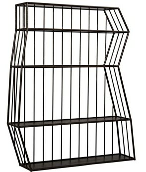 Everest Etagere Bookcase by Noir