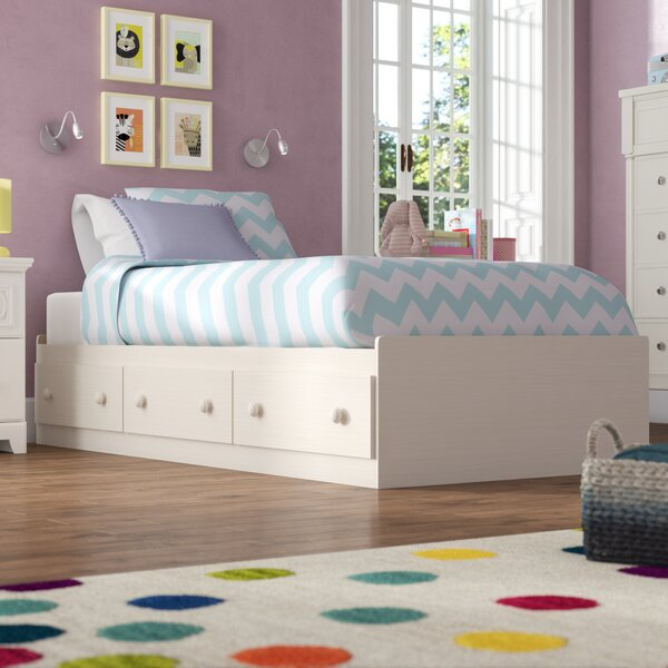 Northampt Mates & Captains Bed with Drawers by Three Posts Teen