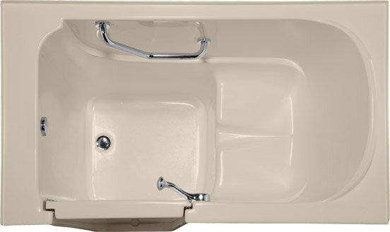 Life Style Series 52 x 30 Whirlpool Bathtub by Hydro Systems