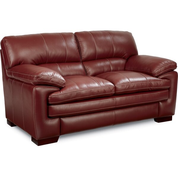 Dexter Leather Loveseat by La-Z-Boy