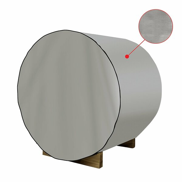 Dust Coat Barrel Sauna Protecting Cover by ALEKO